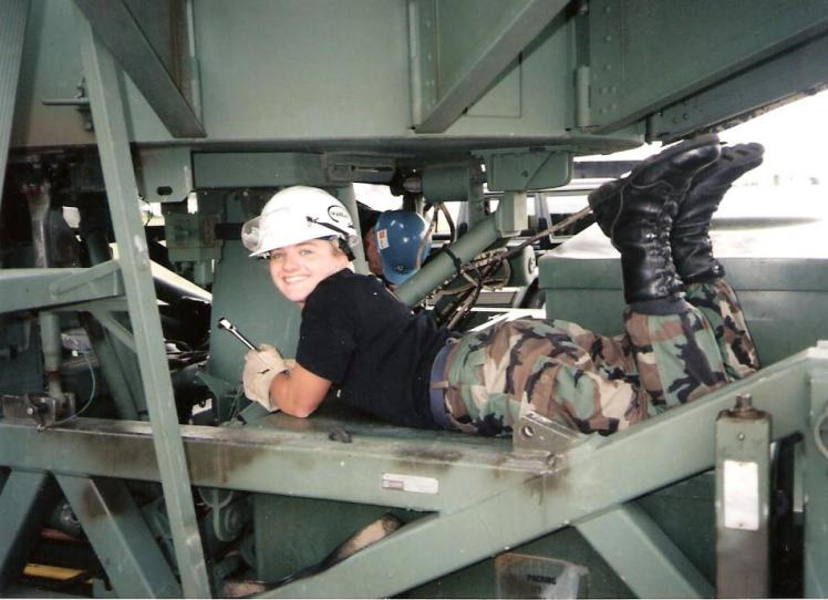 Jennifer Norris, Satellite Communications, Hanscom AFB, Mass (1997)