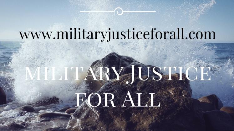 militaryJusticeforAll