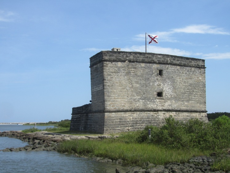 Fort Matanzas National Monument, St Augustine, Florida