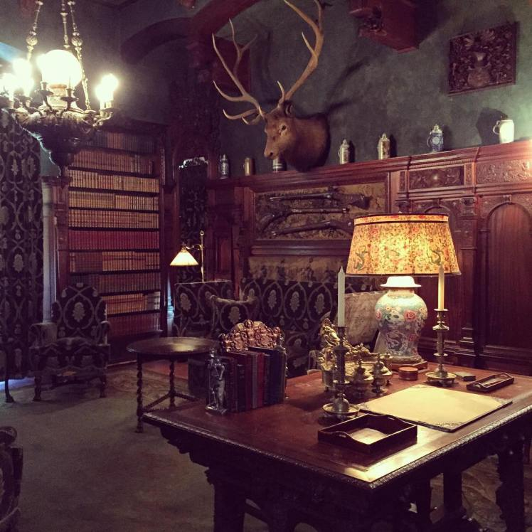 This was Mr. Vanderbilt's office in the mansion and one of my favorite rooms.
