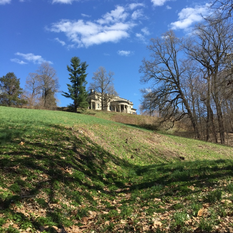 On the way to Bard Rock, we noticed this view of the Vanderbilt Mansion.