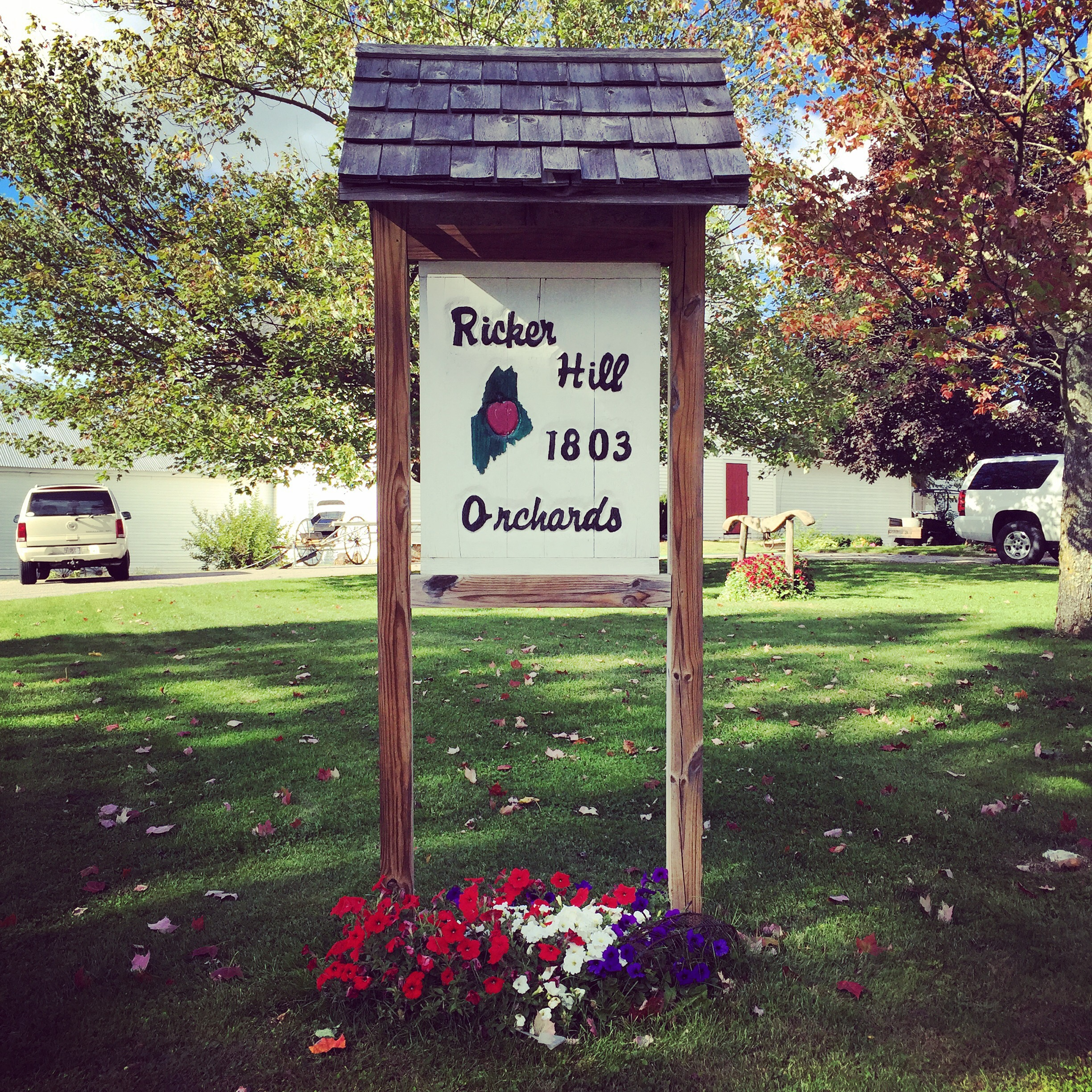 Orchard Hill Apartments Orchard Hill Drive: Apple Picking At Ricker Hill Orchards In Maine