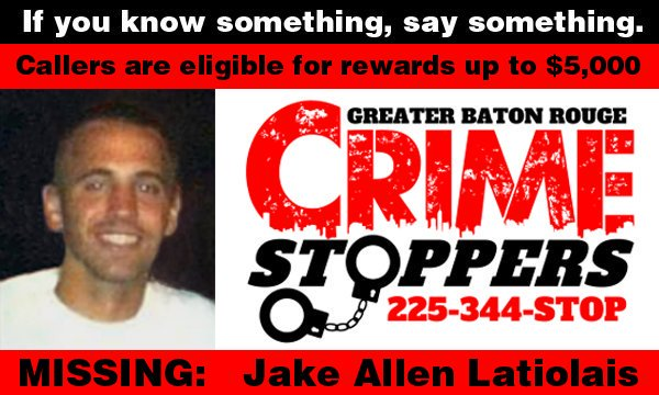 Jake Latiolais Crime Stoppers